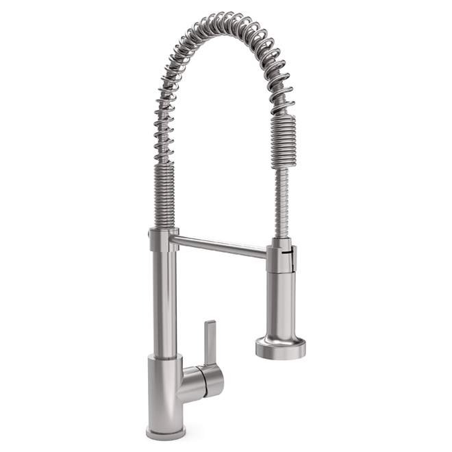 Quot Chef Quot Kitchen Faucet Stainless Steel Rona