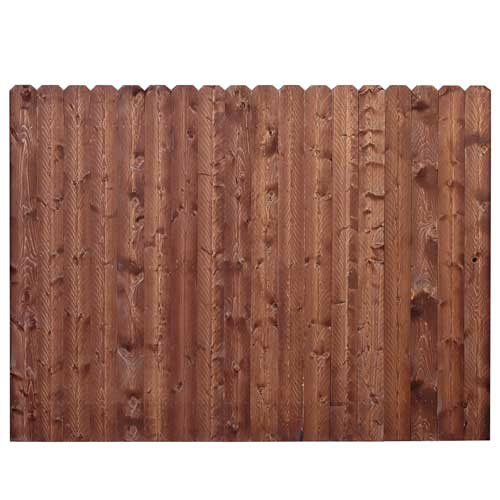 Pre-Assembled Privacy Fence Panel
