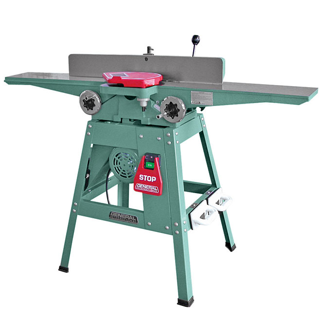Jointer with Extra Long Table - 6""