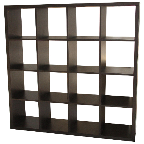 16 cube bookcase rona for Bibliotheque meuble ikea