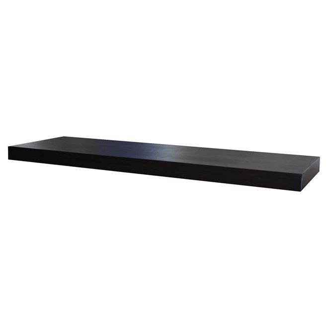 Floating Shelf - 80 cm - Black