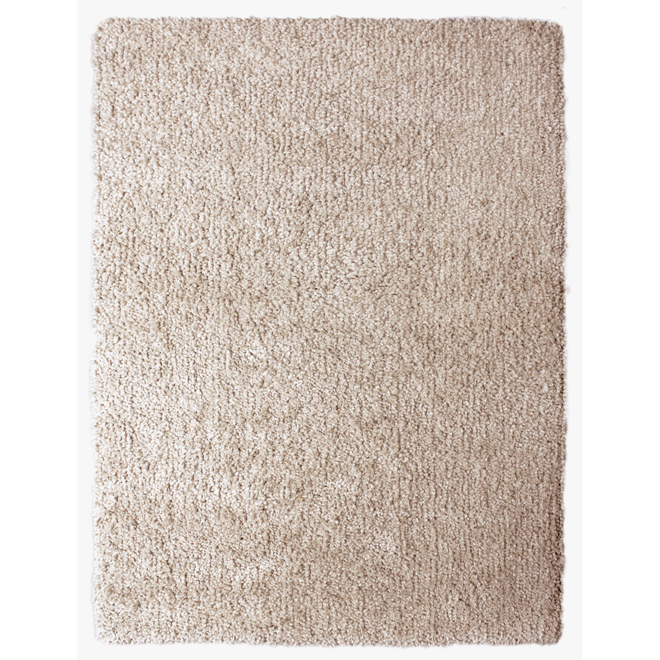 "Shag Rug ""Vienne"" 5' 3"", taupe"