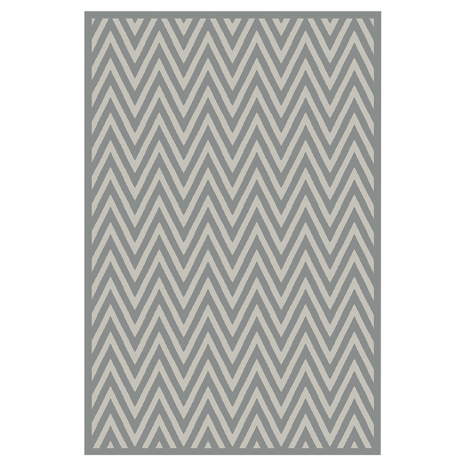 "Accent Rug - Nylon - 30"" x 45"" - Grey"