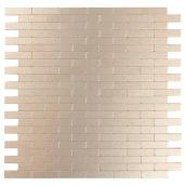 Self-Adhesive Metal Tile - Bricky LC - Light Copper
