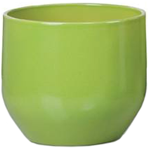 Ceramic Pot Cover 13cm - Pure Green