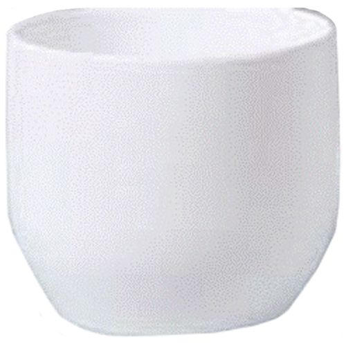 "Pot Cover - ""Panna"" Ceramic Pot Cover 4.5"" - White"