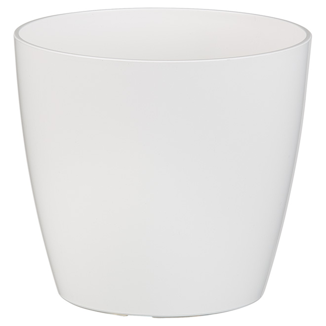 "Cover Pot - ""San Remo"" - 6"" - White"