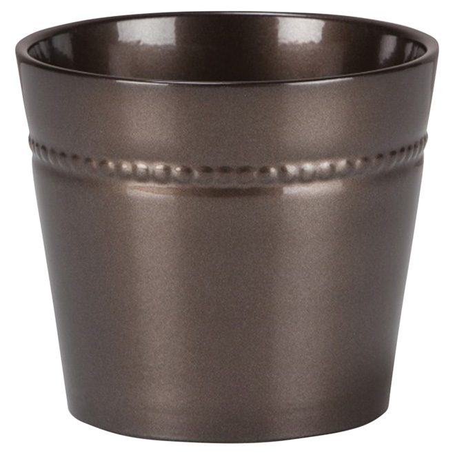 "Ceramic Pot Cover - 6"" - Royal Shine"