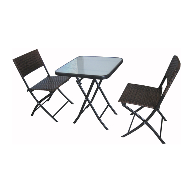 3 pc bistro set rona for Table exterieur rona