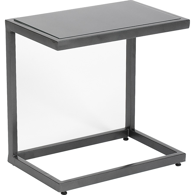 Table d 39 appoint d 39 ext rieur manhattan rona for Table exterieur verre