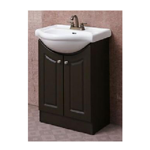 meuble lavabo 2 portes rona. Black Bedroom Furniture Sets. Home Design Ideas