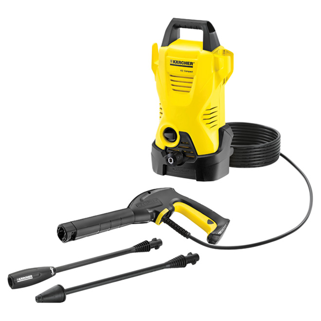 """K2"" Compact Electric Pressure Washer - 1600 PSI"