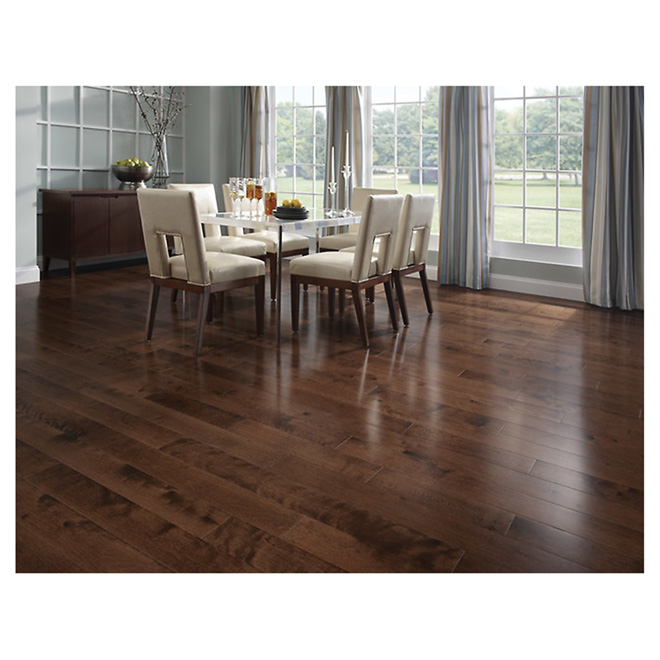 Birch Hardwood Flooring - Cappuccino