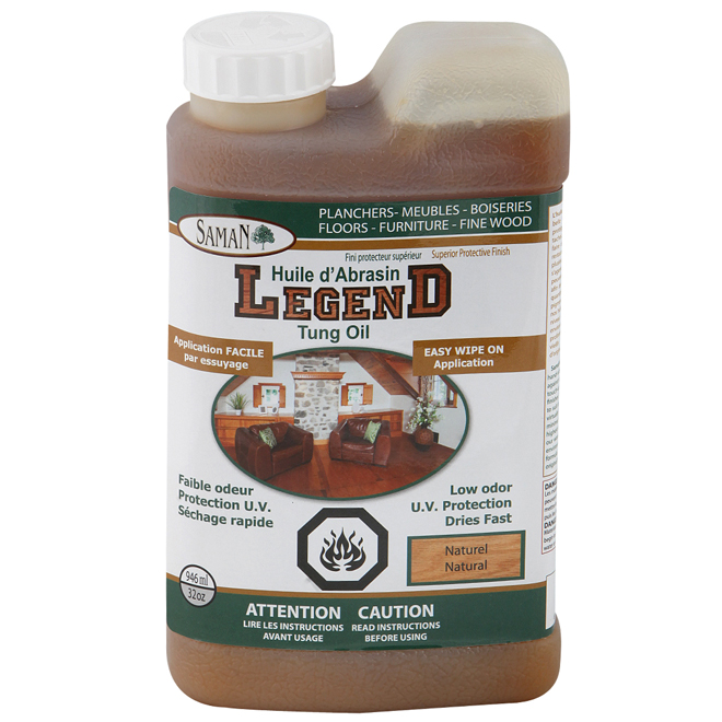Huile d'abrasin « Legend » naturelle de 946 ml