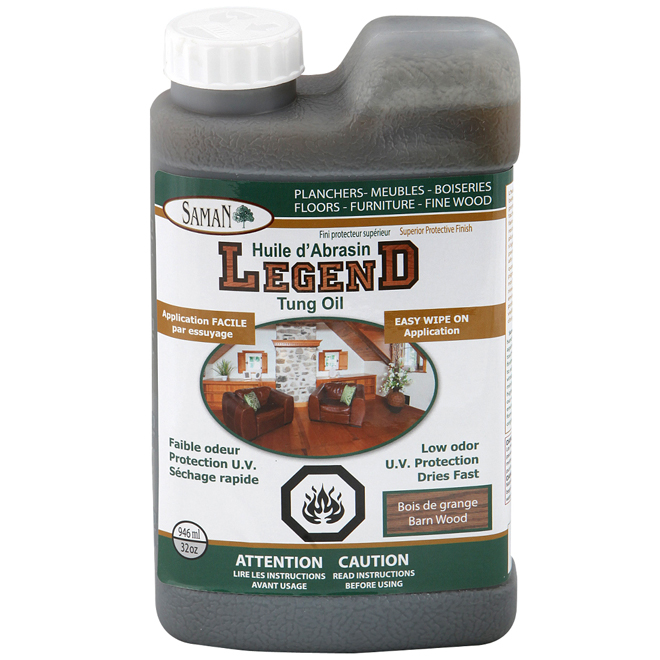 "946 mL Weatherwood Color ""Legend"" Tung Oil"