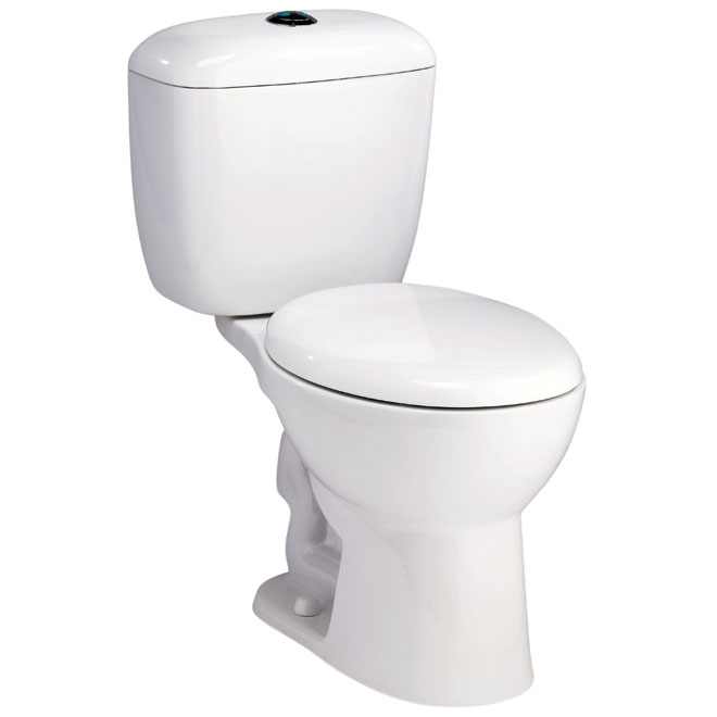 2 Piece Toilet Rona