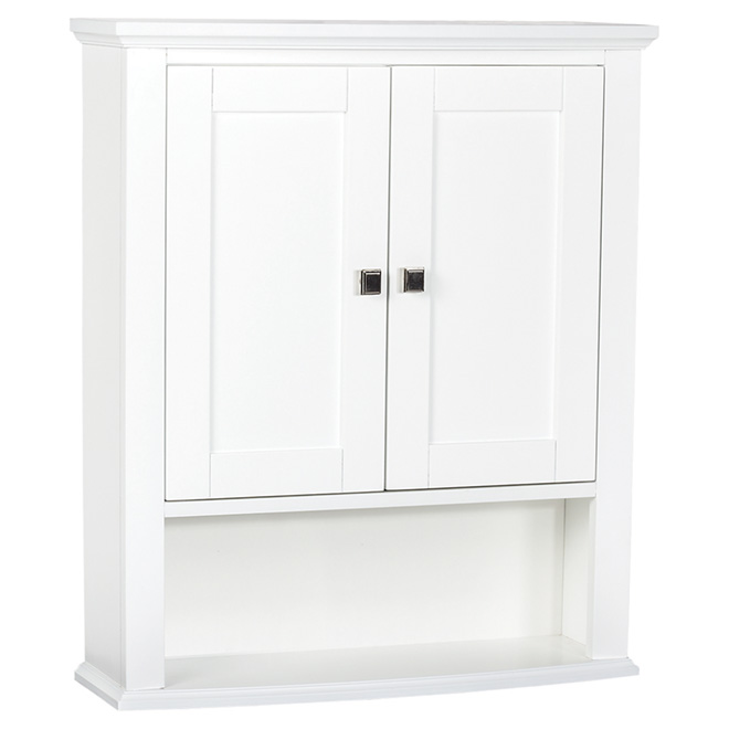 Tallia Medicine Cabinet With 2 Doors And 1 Shelf   White