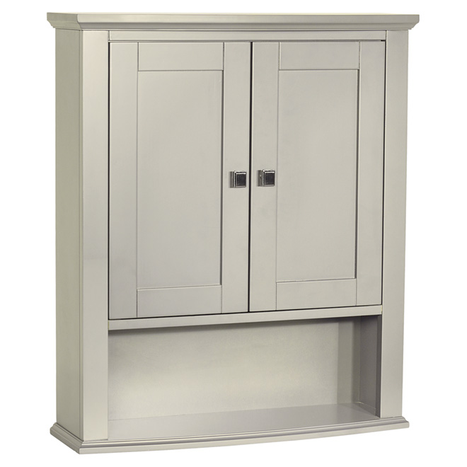 armoire pharmacie tallia gris rona. Black Bedroom Furniture Sets. Home Design Ideas