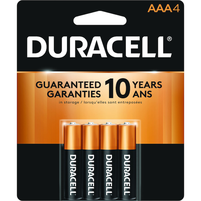"Pack of 4 ""AAA"" Batteries"