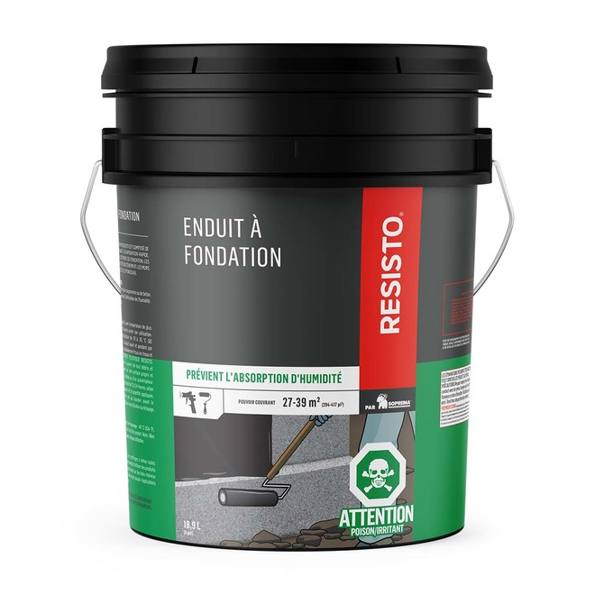 Non-Fibre Foundation Coating - 18.9 L