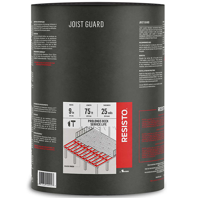"Joist Guard Waterproof Membrane - 9"" x 75'"