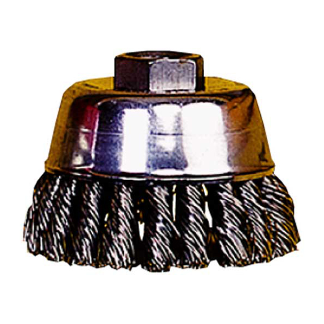 KNOT WIRE CUP BRUSH 23/4X5/8""