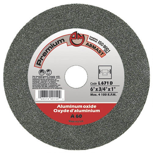 "VITRIFIED ABRASIVES 6X3/4X1"" GR60"