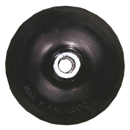 "BACKING PAD W/LOCK NUT 4-1/2""XM14X2.00"