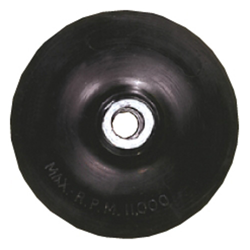 "BACKING PAD W/LOCK NUT 5""X5/8""-11"