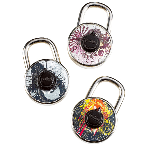 Combination Padlock with Logo