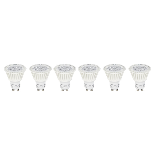 7W LED Dimmable GU10 Bulb - 6 Pack