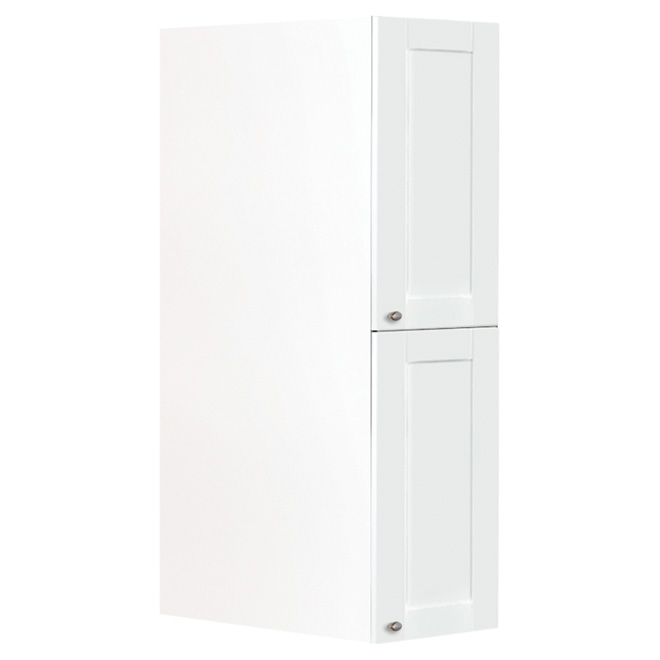 """San Diego"" 2-Door Kitchen Pantry - White"