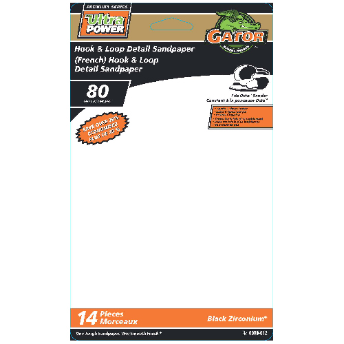 Detail Sanding Sheets - Assorted - 14-Pack