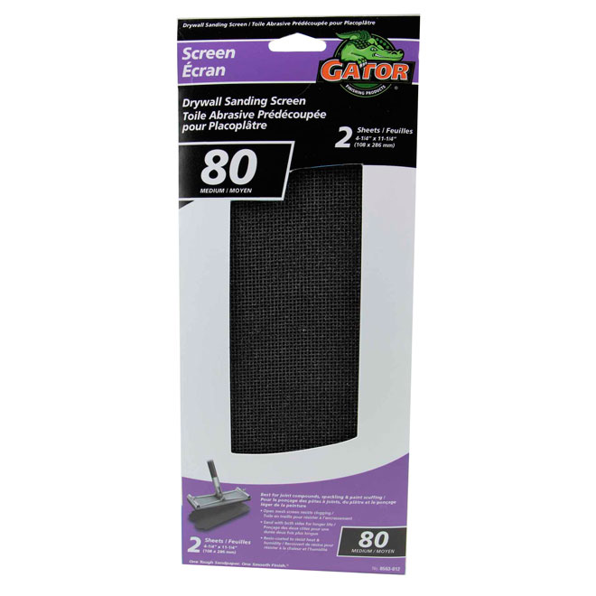 Drywall Sanding Screen - 80 Grit - 2-Pack
