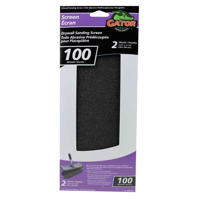 Drywall Sanding Screen - 100 Grit - 2-Pack