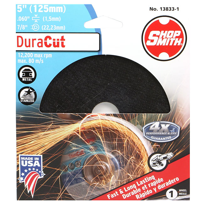 Metal Cutting Wheel - DuraCut - 5""