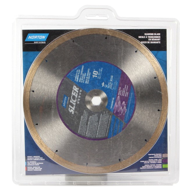 Slicer Circular Saw Diamond Blade - 10""