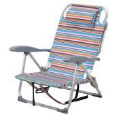 Adjustable Beach Chair - Striped