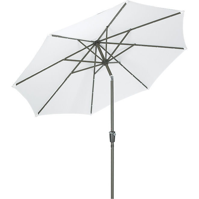 9-ft Umbrella with LED Lights