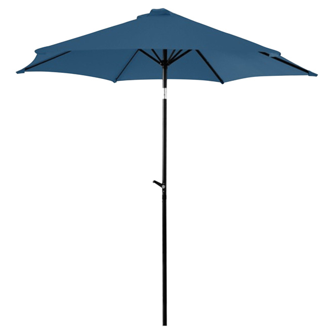 Tilting Patio Umbrella   8.8u0027   Navy