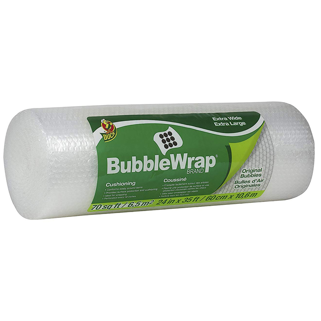 "Bubble Wrap - 24"" x 35'"