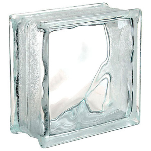 "Glass block ""Cloud"""
