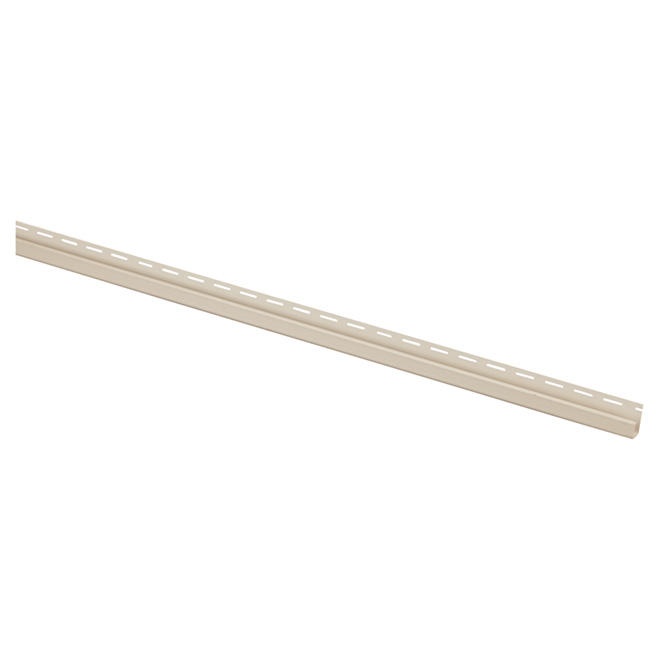"Vinyl J Trim, Sandalwood -  5/8"" x 12'"