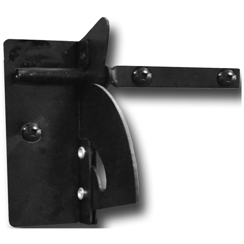 Reversible Self-Leveling Latch