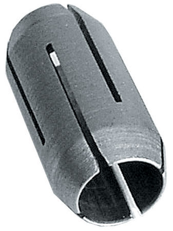 "1/4"" Collet with Collet Nuts Silver Grey"