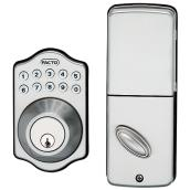 Electronic Lock with Push Buttons