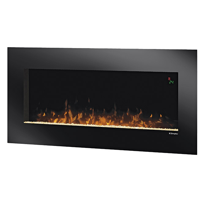 Quot Lacey Quot Wall Mount Electric Fireplace Rona