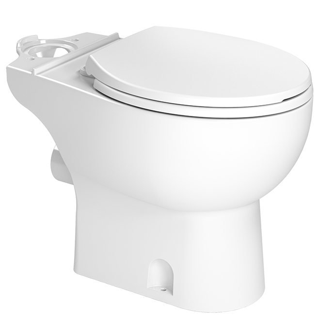 "Round Toilet Bowl - Porcelain - 48"" - White"