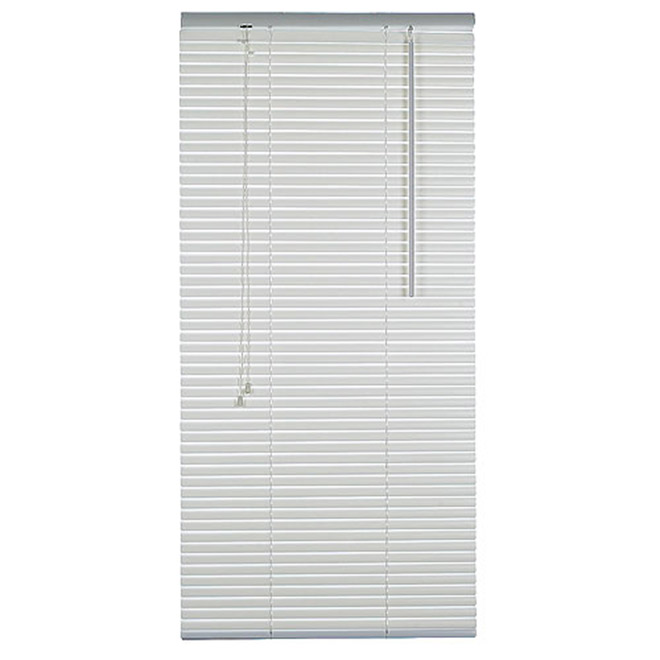 Horizontal Blind - Room Darkening PVC Blind, 16 in x 72 in