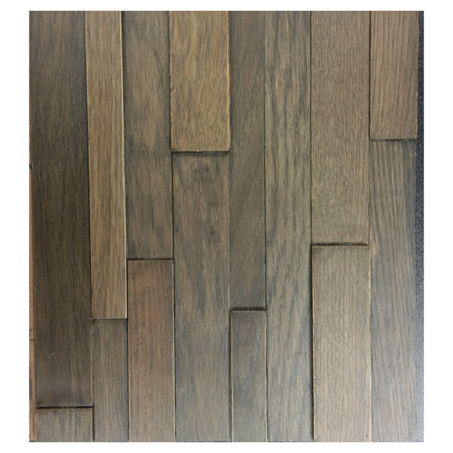 Alsace oak wall panel 3 x 10 x 48 brown rona for Bois flottant mural
